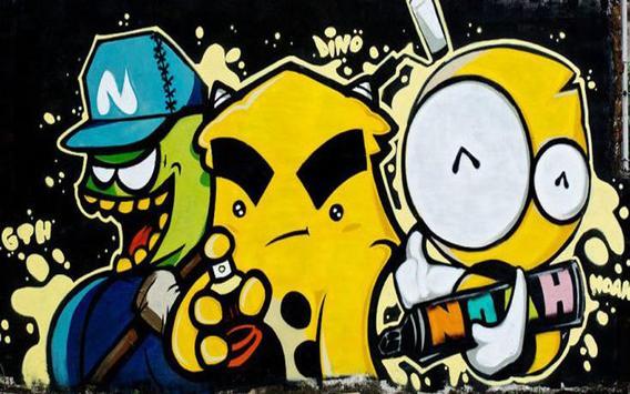 Ide Desain Grafiti screenshot 19