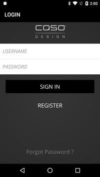 CASO Control App screenshot 1