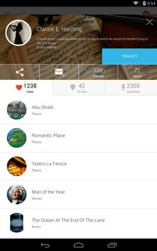 CircleMe: the interest social network apk screenshot