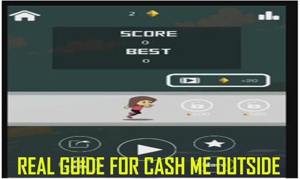 New Cash Me Outside Tips apk screenshot