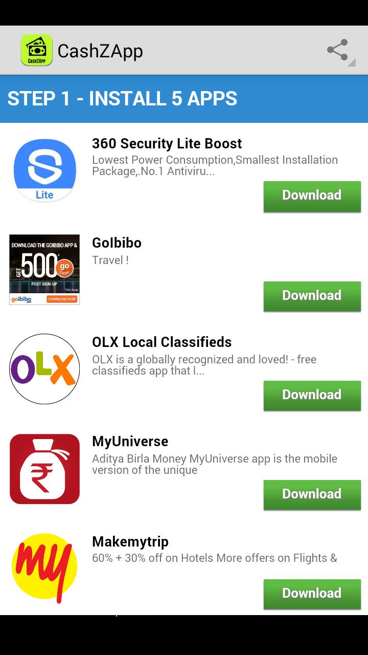 CashZApp - Free Recharge App for Android - APK Download