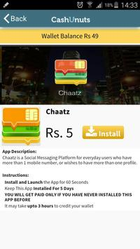 CashUnuts - Earn Free Recharge screenshot 2