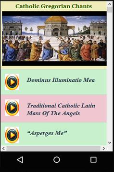 Catholic Gregorian Chants Videos poster