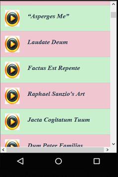 Catholic Gregorian Chants Videos apk screenshot