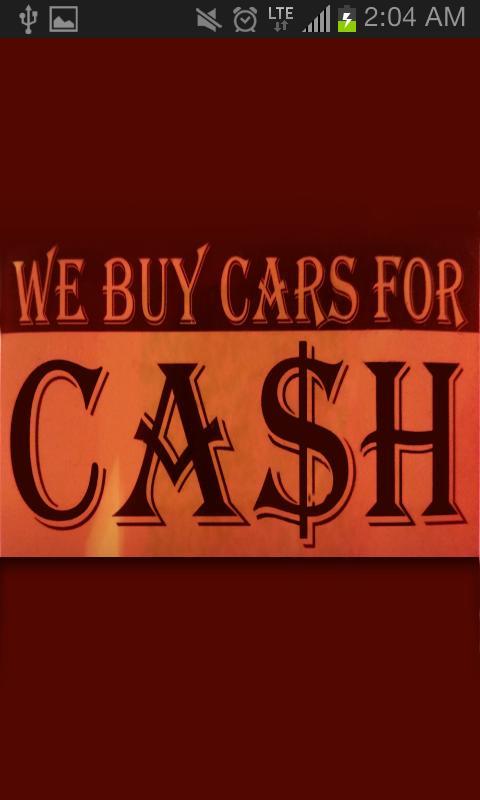 Cash For Junk Cars poster