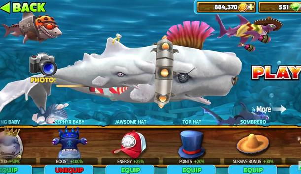 Guide For hungry shark evolution screenshot 1