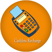 Cashless Recharge - free data icon