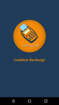 Cashless Recharge - free data poster