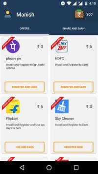 Cashless Recharge - free data screenshot 2