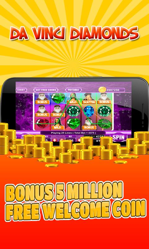 Da Vinci Diamonds Slots Games For Android Apk Download