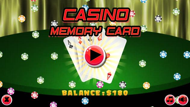 Casino Memory Card screenshot 1