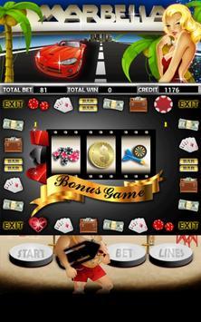 Marbella Slot Machine HD apk screenshot