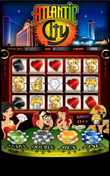 Atlantic City Slot Machine HD poster