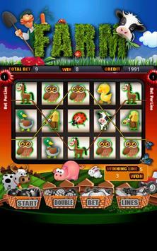 Farm Slot Machine HD poster