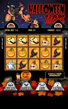 Halloween Slot Machine HD poster