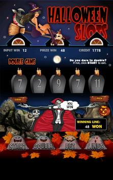 Halloween Slot Machine HD apk screenshot