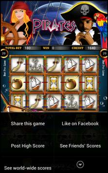 Pirate Slot Machine HD screenshot 3
