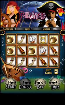Pirate Slot Machine HD poster