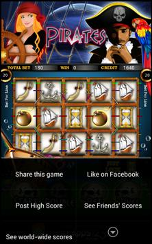 Pirate Slot Machine HD screenshot 11