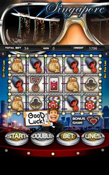 Singapore Slot Machine HD poster