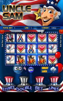 Uncle Sams Slot Machine HD poster