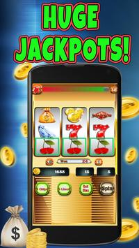 Casino Slot Machine 3 Reel poster