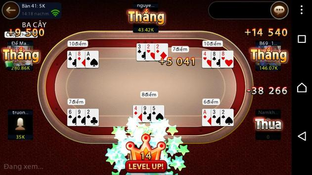 ... Game bai doi thuong bai 69 VIP apk screenshot ...