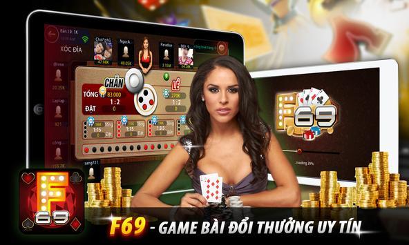 F69: Game bai doi thuong 2016 screenshot 6