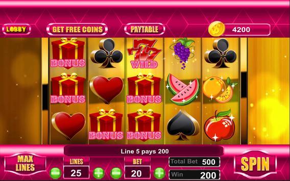 Slots In Wonderland screenshot 2