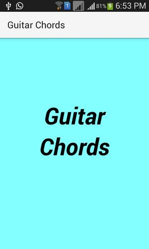 Guitar Chords Songs APK Download - Free Entertainment APP for ...