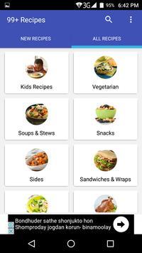 99+ Recipes screenshot 1