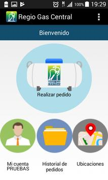 Regio Gas Central Pedidos screenshot 1