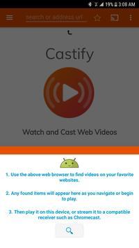 Schermata apk Cast to TV & Chromecast