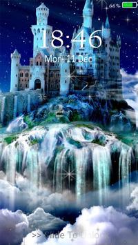 Castle 3D live wallpaper poster