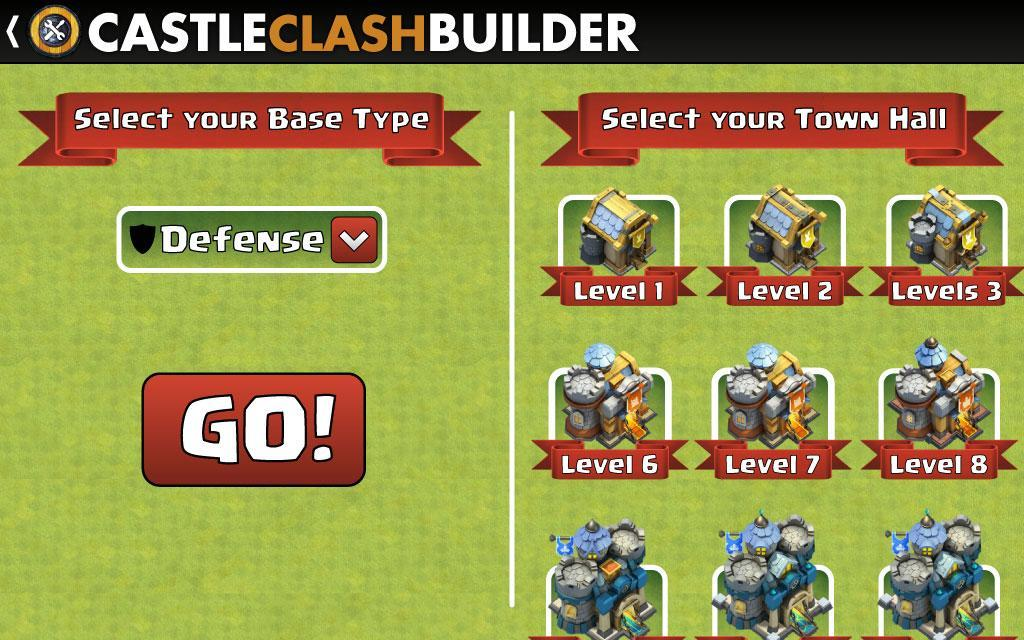 Castle clash levels