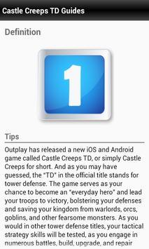 Guides Castle Creeps TD tactic screenshot 2
