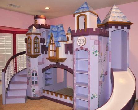 Castle Theme Bedroom Design poster