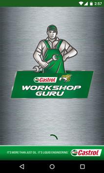 Castrol Workshop Guru poster