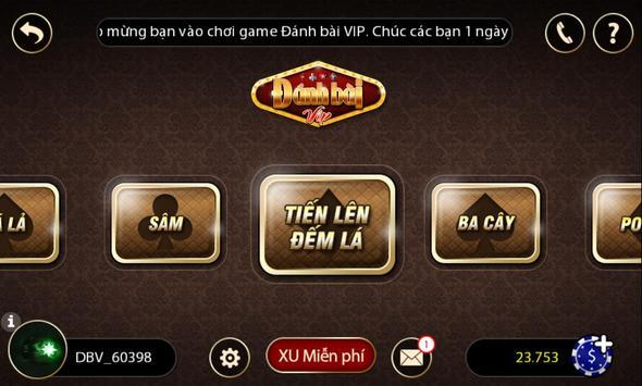 Tien len danh bai game bai screenshot 3