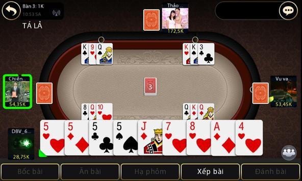 Tien len danh bai game bai screenshot 10