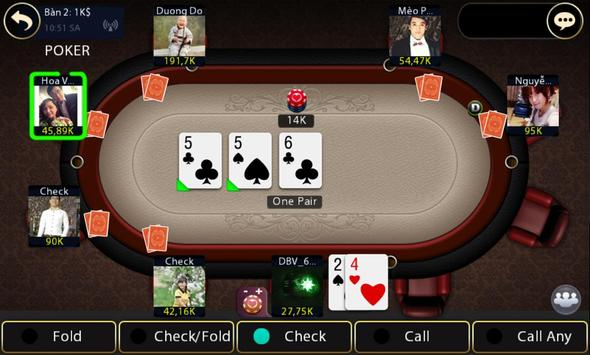 Tien len danh bai game bai screenshot 14