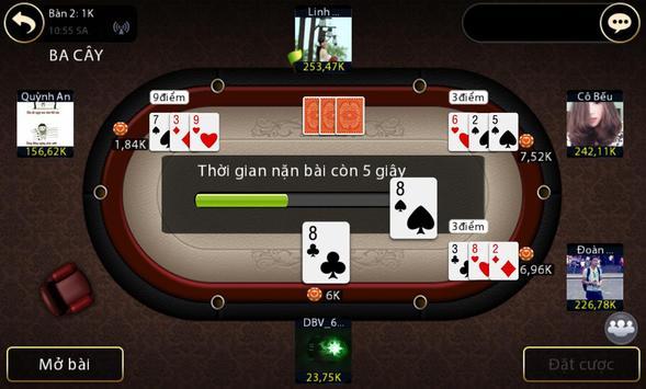 Tien len danh bai game bai screenshot 1