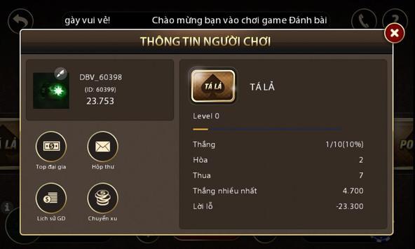 Tien len danh bai game bai screenshot 7