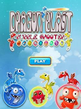 DRAGON BUBBLE BLAST poster