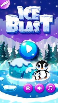 Ice Blast - Ice crushing frozen match 3 mania poster