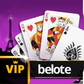 Belote ♥️ VIP Belote online multiplayer free cards icon