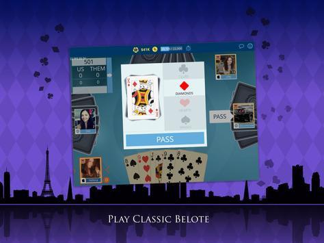 VIP Belote - Coinche & Belote apk screenshot