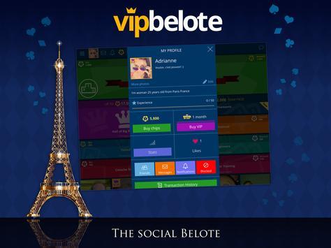 Belote ♥️ VIP Belote online multiplayer free cards apk screenshot