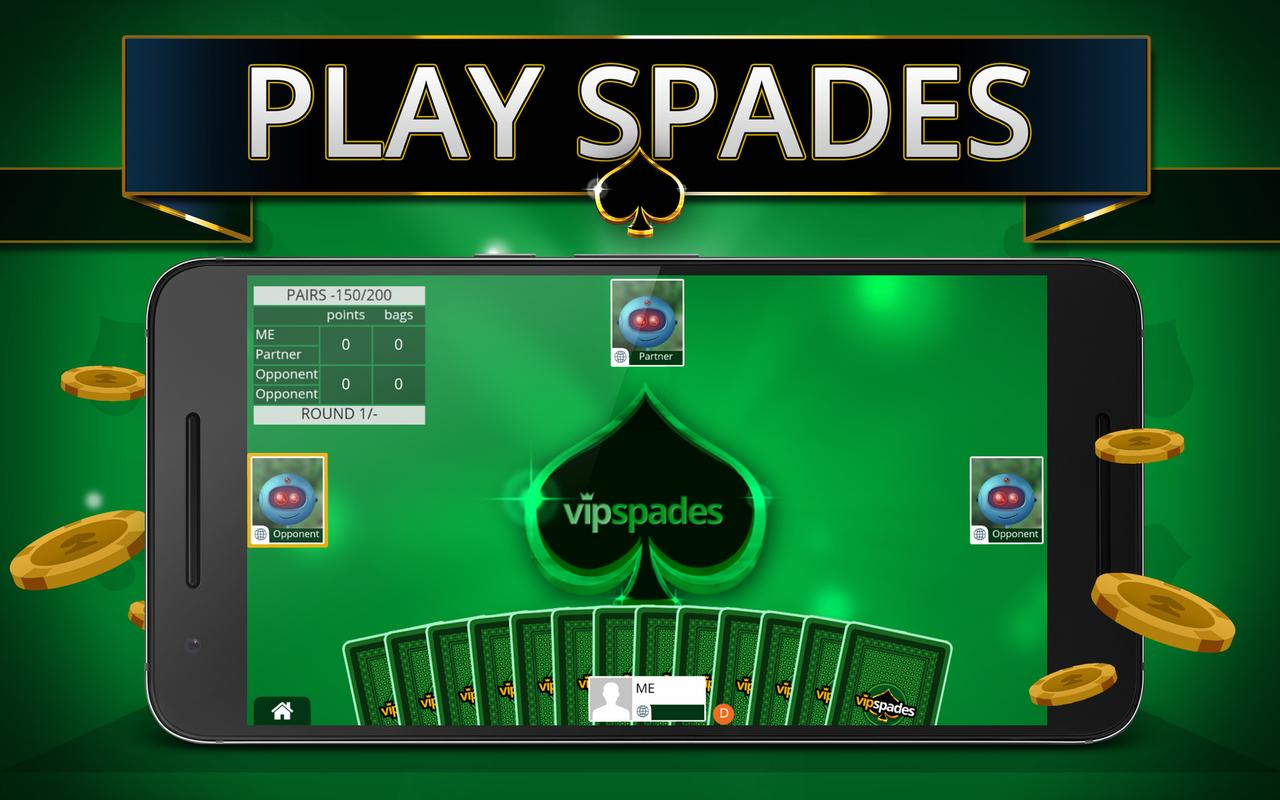 Play Spades Online For Free No Download