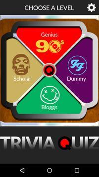 90s Music Trivia Quiz Game poster